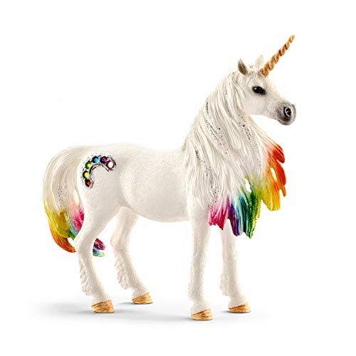 Schleich 70524 bayala Spielfigur - Regenbogeneinhorn Stute, Spielzeug ab 5 Jahren