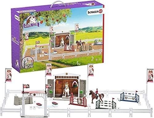 Schleich 42338 Horse Club Spielset - Großes Reitturnier mit Pferden, Spielzeug ab 5 Jahren